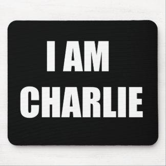 i am charlie mouse pad