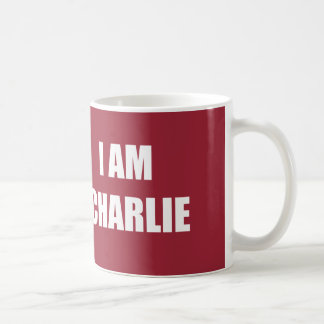 I AM CHARLIE CLASSIC WHITE COFFEE MUG