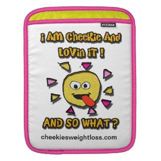 I am cheekie and lovin it sleeve for iPads
