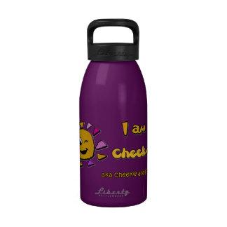 I am cheekulous reusable water bottles