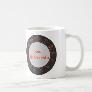 I am chess player coffee mug