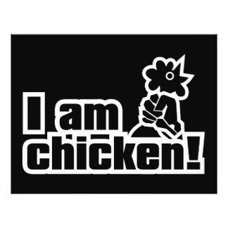 I am chicken! flyer