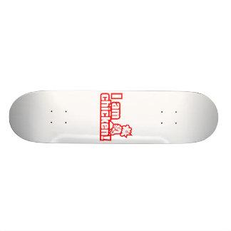 I am chicken! skateboard deck