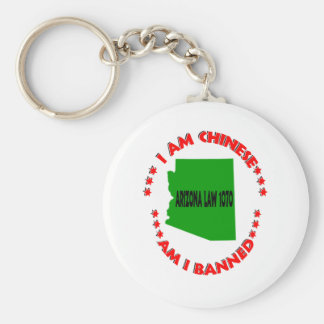 I Am Chinese Am I Banned Keychain