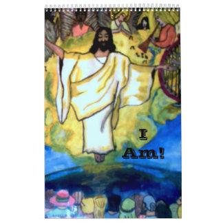 """"""" I AM"""" CHRISTIAN calendar"""