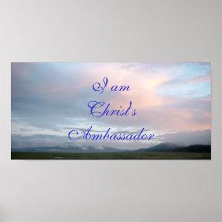 I am Christ's ambassador poster