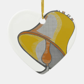 I AM CLOCHE.png Ceramic Ornament