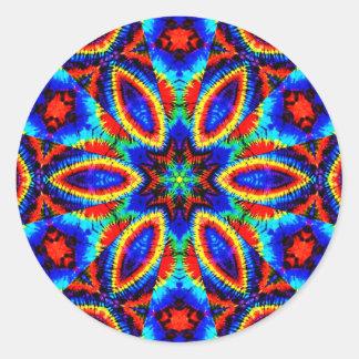 I Am Colors_ Round Sticker