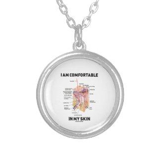 I Am Comfortable In My Skin (Dermal Layers) Pendants