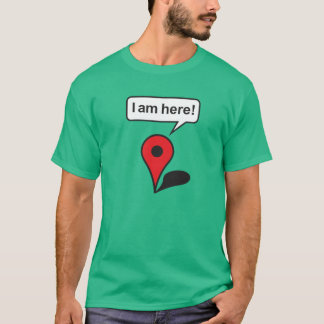 I am complete! Google Maps T-Shirt