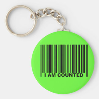 I AM COUNTED KEY CHAIN