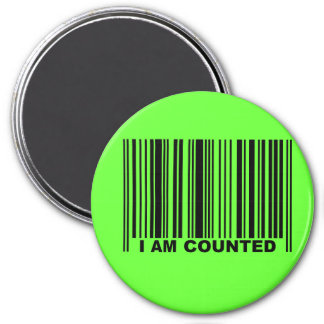 I AM COUNTED MAGNET