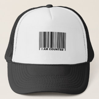 I AM COUNTED TRUCKER HAT