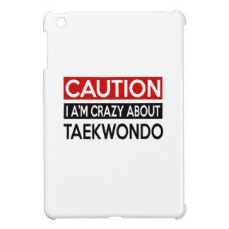 I A'M CRAZY ABOUT TAEKWONDO iPad MINI COVER
