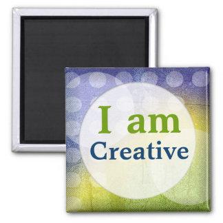 I Am Creative Magnet Quotes