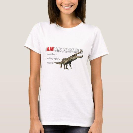 I am crocodile T-Shirt