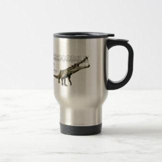 I am crocodile travel mug