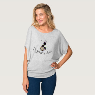 I am differently abled. T-Shirt