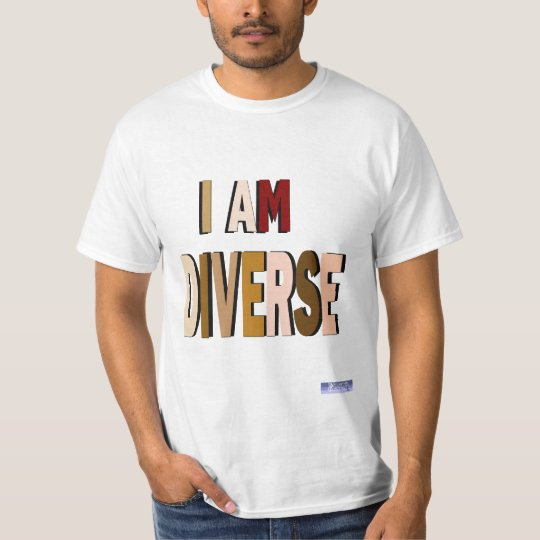 I Am Diverse Value Tee
