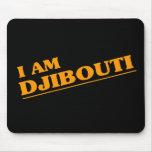 I am Djibouti Mouse Pad