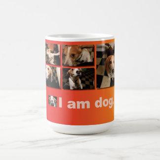 I AM DOG - Crazy Beagle mug
