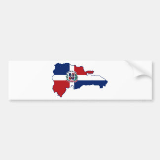 I AM DOMINICAN AND YOUR BUMPER STICKER