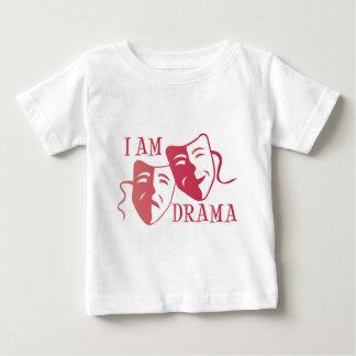I am drama hot pink gradient baby T-Shirt