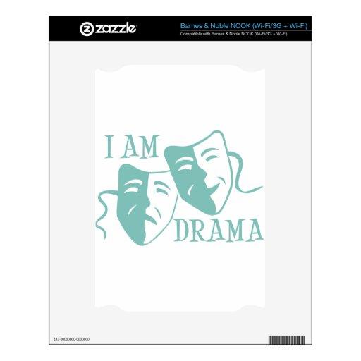 I am drama light blue NOOK skin