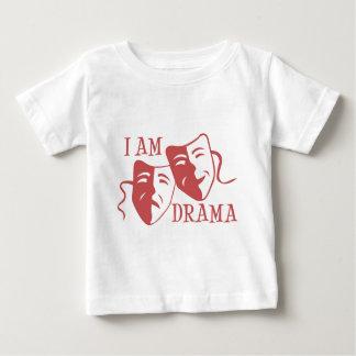 I am drama salmon baby T-Shirt