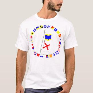 I am drifting Nautical Signal Flag Hoist T-Shirt