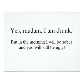 I am Drunk but... (St.K) 4.25x5.5 Paper Invitation Card