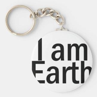 I am Earth Keychain
