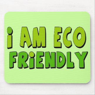 I am eco-friendly mouse pad