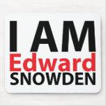 I Am Edward Snowden Mousepad