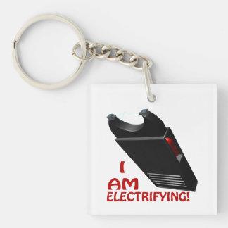 I Am Electrifying Single-Sided Square Acrylic Keychain