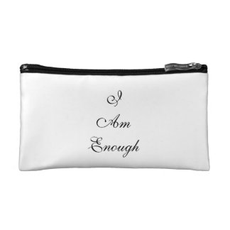 I Am Enough Cosmetic Bag