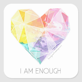 I Am Enough - Mirror/Scale Sticker