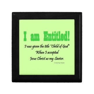 I am entitled gift boxes
