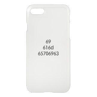 I AM EPIC... expressed in hexadecimal iPhone 8/7 Case