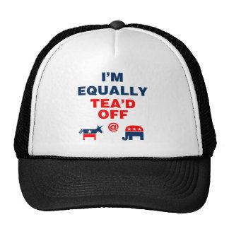 I Am Equally Tea'd Off (v110x) Trucker Hat