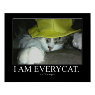 I Am Everycat Poster