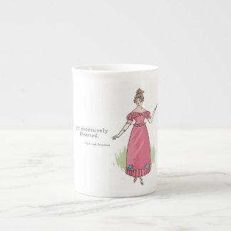 I am excessively diverted - Pride & Prejudice Tea Cup
