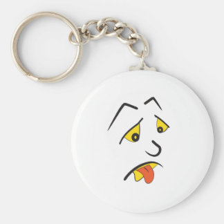 I am exhausted!! keychain