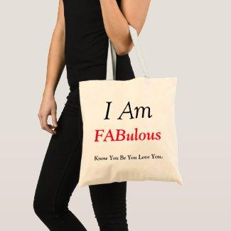 I Am Fabulous Tote