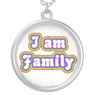 I am Family Necklace