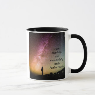 I am Fearfully and Wonderfully Made Coffee Mug