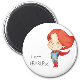 I am fearless Gilr Magnet