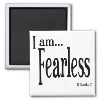 I am Fearless Verse Magnet