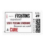I am fighting against Stiff Person Syndrome Postage Stamps