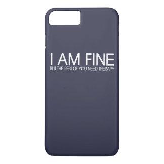 I AM FINE iPhone 7 PLUS CASE